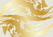 Golden Marble Design stock illustration