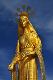 Golden Mary Royalty Free Stock Images