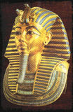 Golden mask of the Egyptian pharaoh tutankhamun Royalty Free Stock Photo