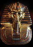 The golden Mask of King Tut Ankh Amen. Royalty Free Stock Photo