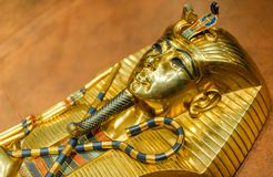 Golden Mask of Tutankhamun Royalty Free Stock Photography