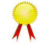 Golden medal Royalty Free Stock Photography