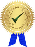 Golden medal Royalty Free Stock Photos