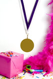 Golden medal Stock Photos