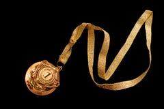 golden medal Στοκ φωτογραφία με δικαίωμα ελεύθερης χρήσης