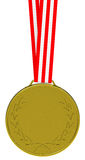 The golden medal Stock Image