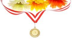 Golden medal Royalty Free Stock Photos