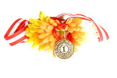 Golden medal Stock Photo