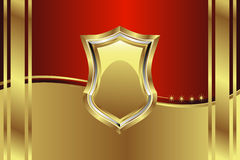 Golden Medallion Royalty Free Stock Images