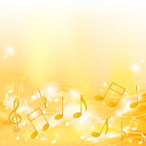 Golden Melody Royalty Free Stock Photos