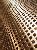 Golden mesh Stock Image