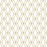 Gold and white retro luxury background. Repeat design element. Golden mesh seamless pattern. Subtle abstract geometric ornament texture with thin curved lines royalty free illustration