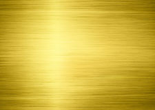 Golden metal. Shiny texture as background Stock Photo