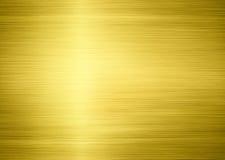 Golden metal Stock Photo