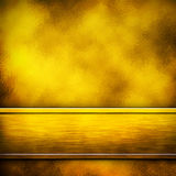 Golden metal background Stock Image