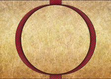 Golden metal background with red grid texture bronze plates Royalty Free Stock Photo
