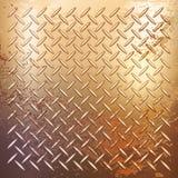 Golden metal background Stock Photo