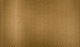 Golden metal grid background Stock Photos