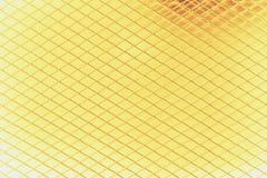 Golden metal mesh Royalty Free Stock Images