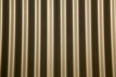 Wavy Metal Background Stock Photography