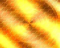 Golden metal Royalty Free Stock Image