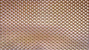 Golden metal surface texture pattern Royalty Free Stock Photography