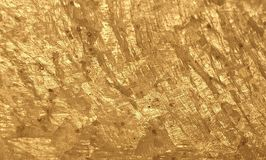 Golden gold leaf background wallpaper glamour glitter shining royalty free stock images