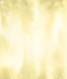 Golden metalic Christmas card made in illustrator Stock Photos