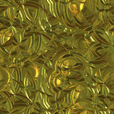 Golden metallic background Stock Image