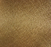 Golden metallic fabric texture Stock Photo