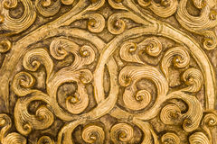 Golden Metalwork Stock Images