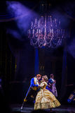 Golden mickey show, beauty and the beast. Hong kong disneyland golden mickey show. the beauty and the beast Royalty Free Stock Image
