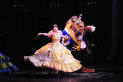 The Golden Micky Show - Beauty and The Beast Stock Image
