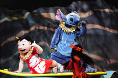 The Golden Micky Show - lilo & stitch Stock Images