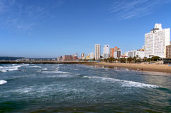 Golden Mile Beachfront In Durban South Africa royalty free stock photo