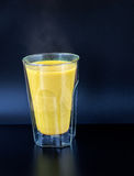 Golden Milk Royalty Free Stock Photography