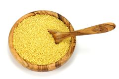 Golden millet Royalty Free Stock Image