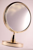 Golden mirror Royalty Free Stock Image