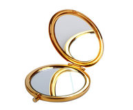 Golden mirror Stock Photography