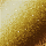 Golden mosaic Royalty Free Stock Image