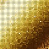 Golden mosaic Royalty Free Stock Image