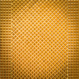 Golden mosaic Stock Photography