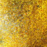 Golden mosaic. Abstract background. EPS 8 Stock Image