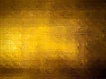 Golden mosaic background Royalty Free Stock Photo