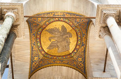 Golden mosaic, the cathedral of San Marco, Venice. Stock Image
