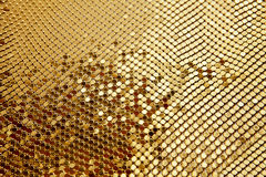 Golden mosaic Royalty Free Stock Photo