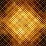Golden mosaic Royalty Free Stock Photography
