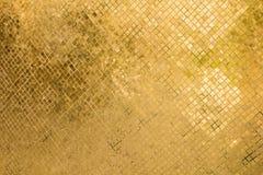 Golden mosaic Stock Photography