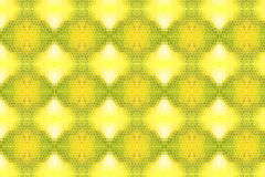 Golden mosaic pattern Stock Images