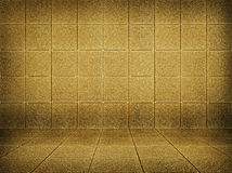 Golden mosaic room Royalty Free Stock Images